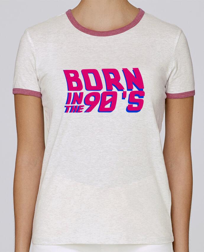 T-shirt Femme Stella Returns Born in the 90's pour femme par tunetoo
