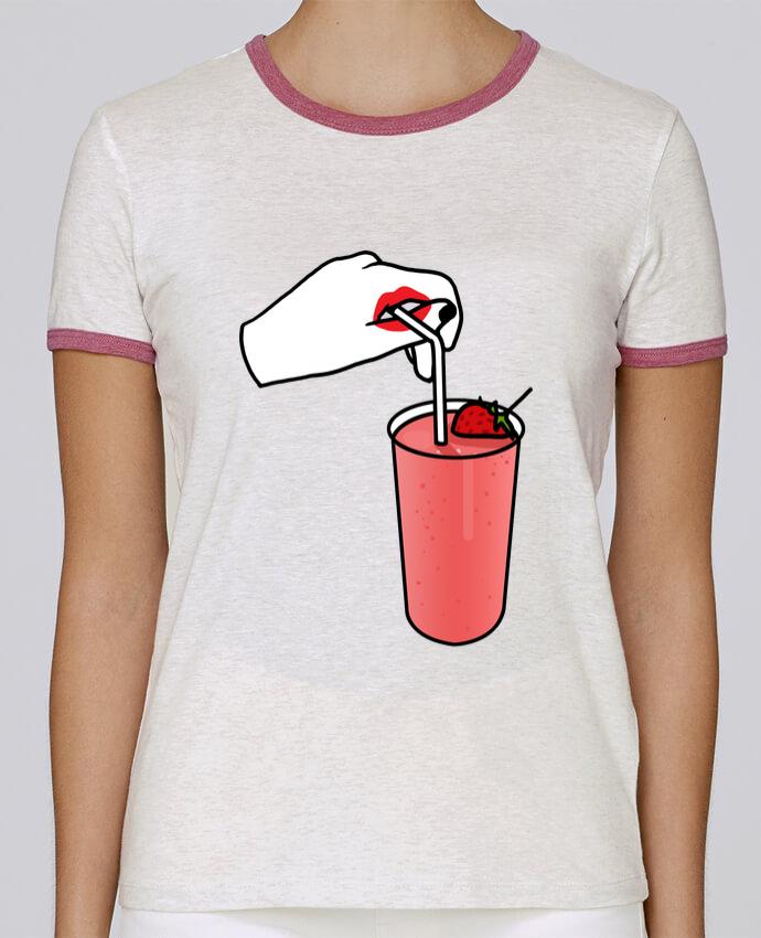 T-shirt Femme Stella Returns Milk shake pour femme par tattooanshort