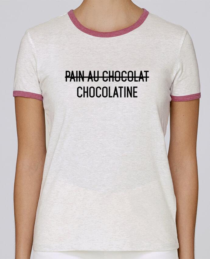 T-shirt Femme Stella Returns Chocolatine pour femme par tunetoo
