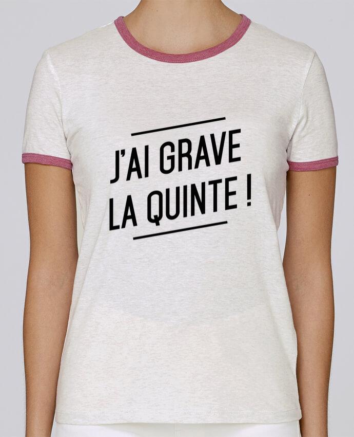 T-shirt Femme Stella Returns La quinte ! pour femme par tunetoo