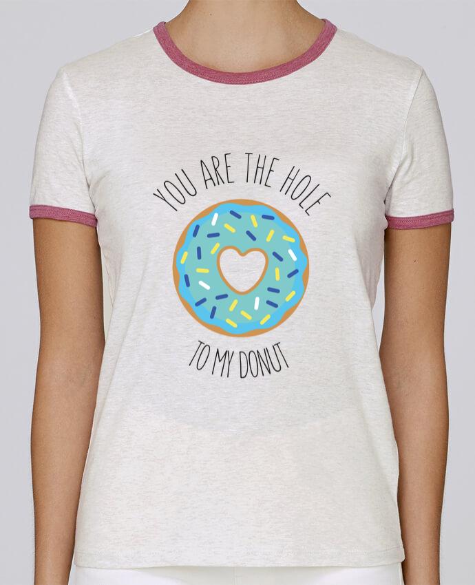 T-shirt Femme Stella Returns Donut coeur pour femme par tunetoo
