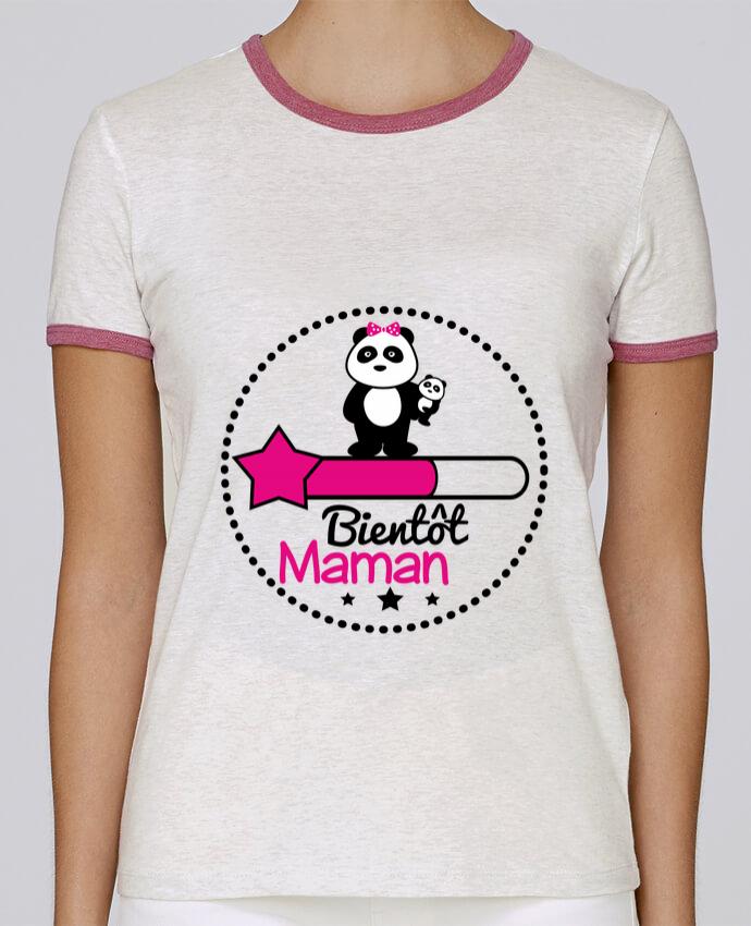 T-shirt Femme Stella Returns Bientôt maman - Future mère , grossesse pour femme par Benichan