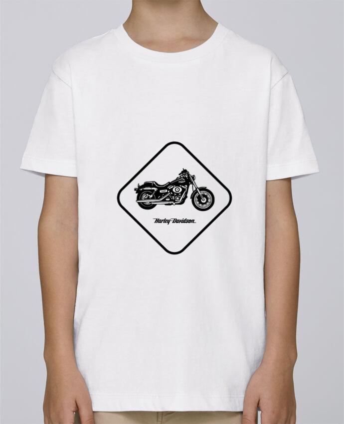 Tee Shirt Garçon Stanley Mini Paint Harley Davidson par Likagraphe