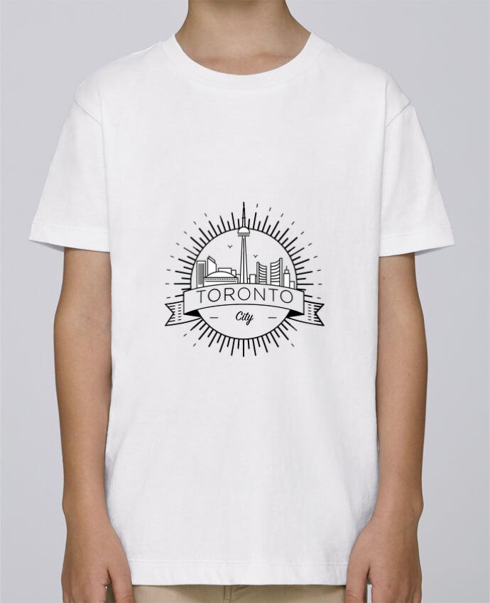 Tee Shirt Garçon Stanley Mini Paint Toronto City par Likagraphe