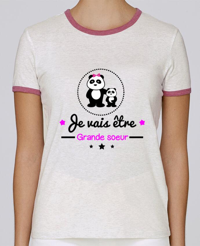 T-shirt Femme Stella Returns Bientôt grande soeur - Future grande soeur pour femme par Benichan
