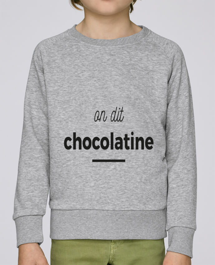 Sweat Col Rond Enfant Stanley Mini Scouts On dit chocolatine par Ruuud