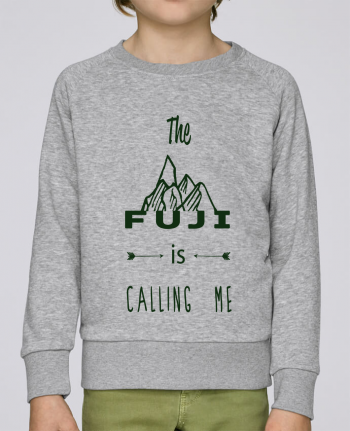 Sweat Col Rond Enfant Stanley Mini Scouts The Fuji is calling me par Les Caprices de Filles