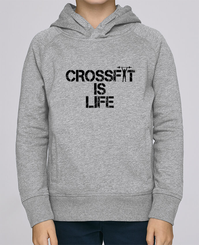 Sweat à Capuche Enfant Stanley Mini Base Crossfit is life par tunetoo