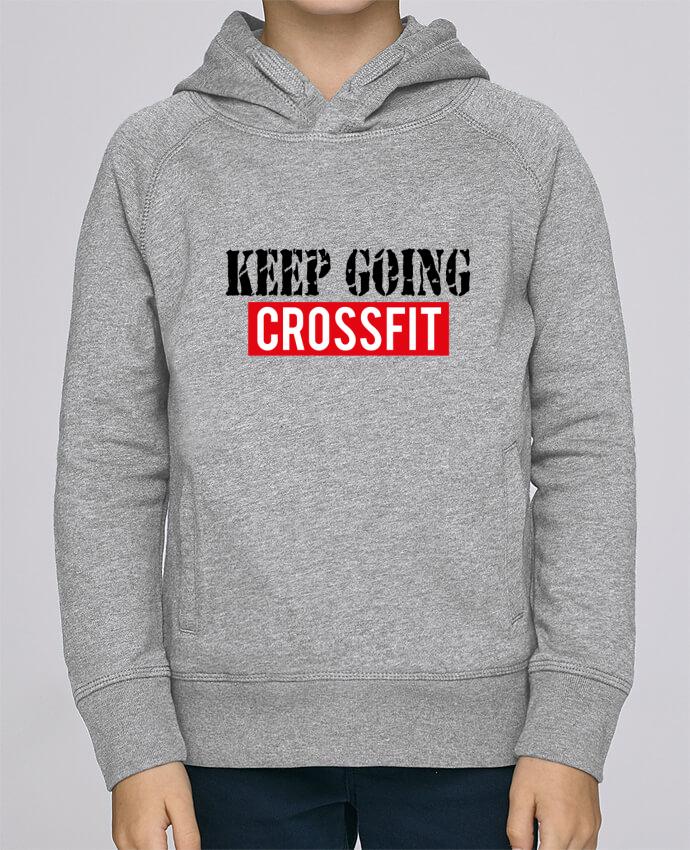 Sweat à Capuche Enfant Stanley Mini Base Keep going ! Crossfit par tunetoo