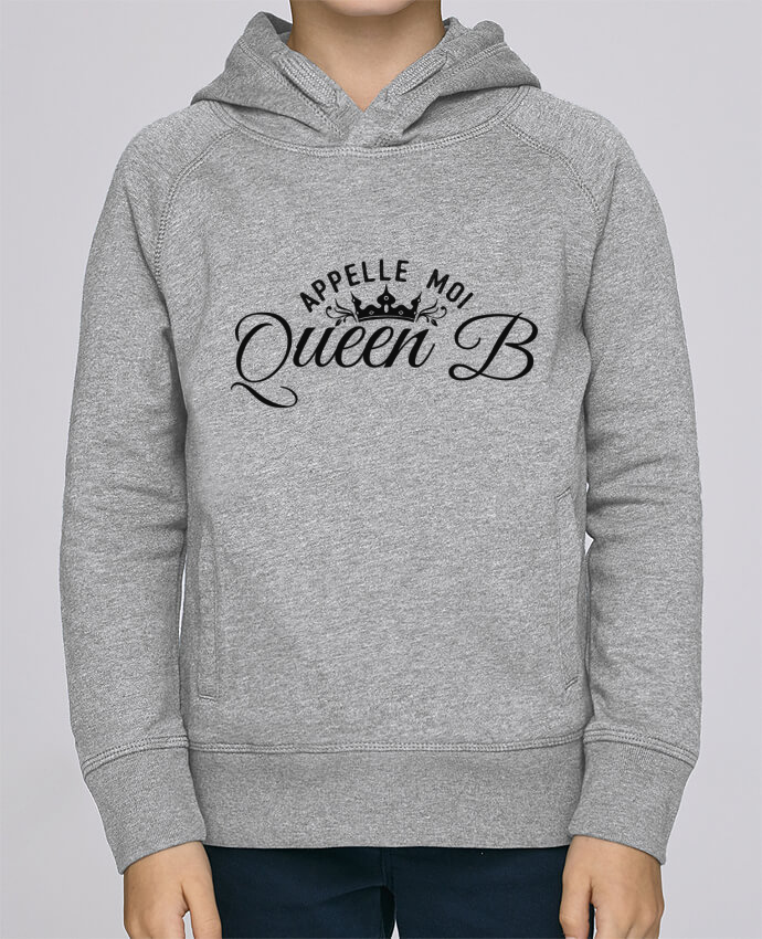 Sweat à Capuche Enfant Stanley Mini Base Appelle moi queen B par tunetoo