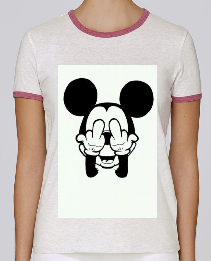 T-shirt Femme Stella Returns Vetement mickey doigt d