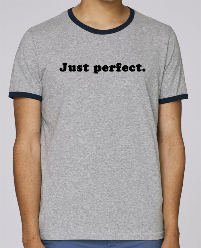 T-Shirt Ringer Contrasté Homme Stanley Holds Just perfect pour femme par Les Caprices de Filles