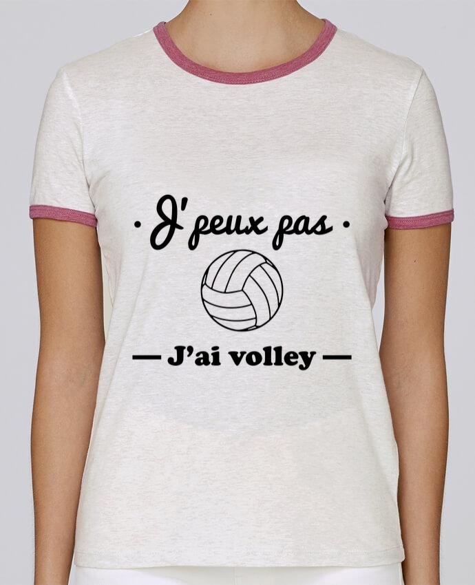 T-shirt Femme Stella Returns J'peux pas j'ai volley , volleyball, volley-ball pour femme par Benichan