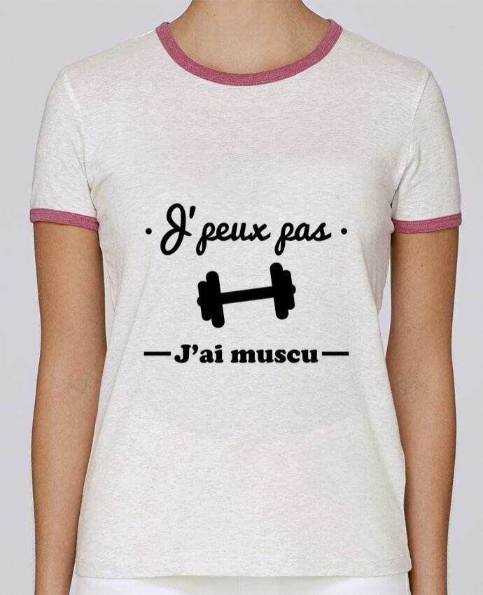 T-shirt Femme Stella Returns J'peux pas j'ai muscu, musculation pour femme par Benichan