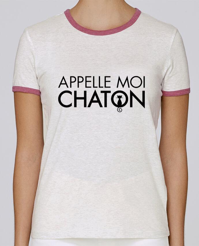 T-shirt Femme Stella Returns Appelle moi Chaton pour femme par Freeyourshirt.com
