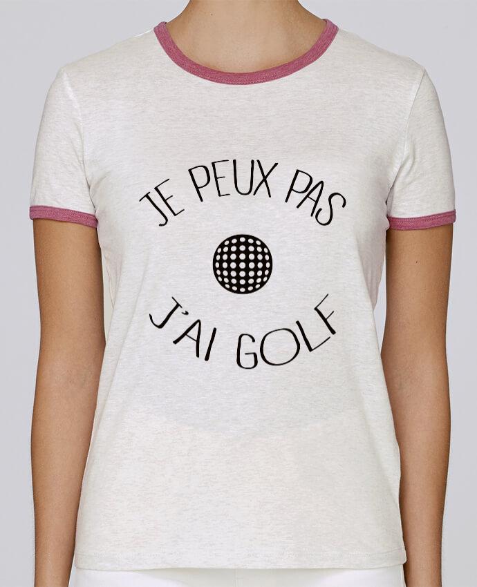 T-shirt Femme Stella Returns Je peux pas j'ai golf pour femme par Freeyourshirt.com