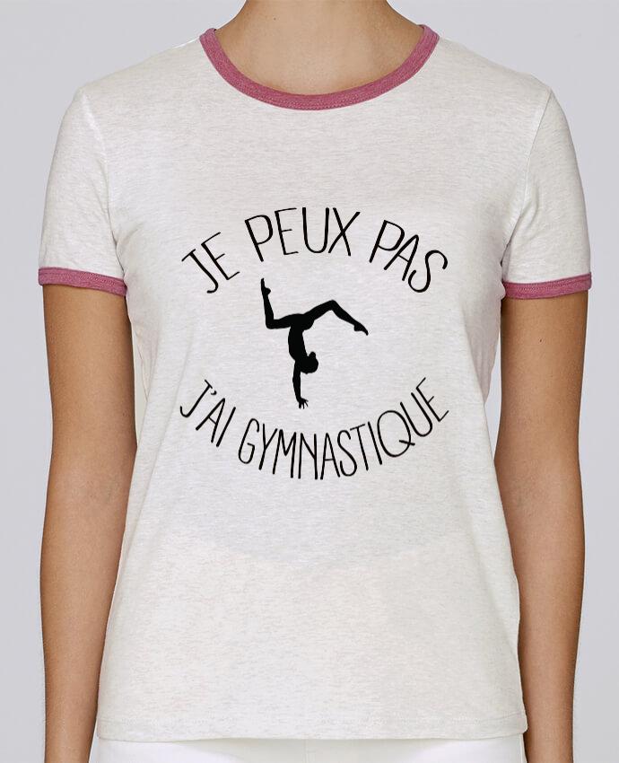 T-shirt Femme Stella Returns Je peux pas j'ai gymnastique pour femme par Freeyourshirt.com