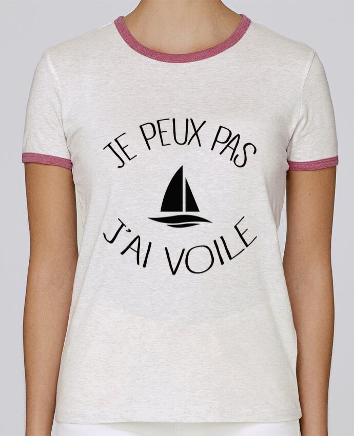 T-shirt Femme Stella Returns Je peux pas j'ai voile pour femme par Freeyourshirt.com