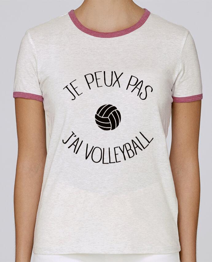 T-shirt Femme Stella Returns Je peux pas j'ai volleyball pour femme par Freeyourshirt.com