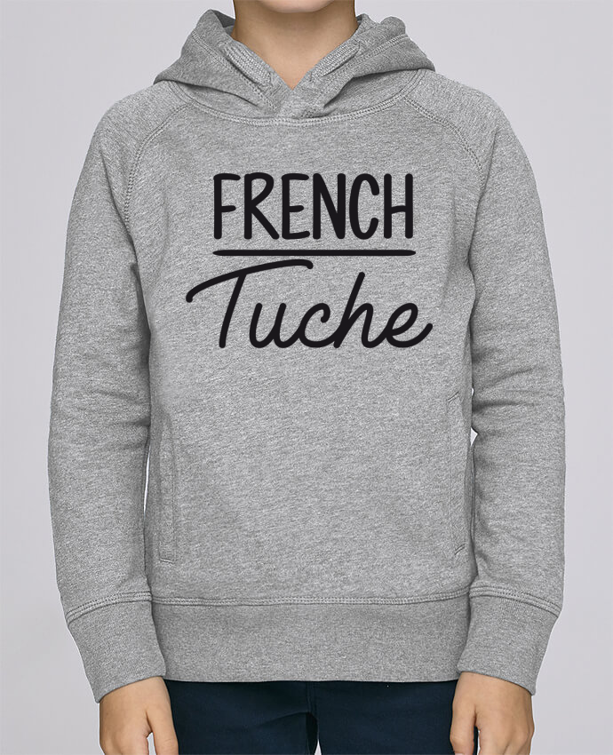 Sweat à Capuche Enfant Stanley Mini Base French Tuche par FRENCHUP-MAYO
