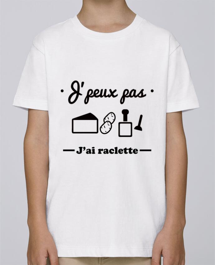 Tee Shirt Garçon Stanley Mini Paint J'peux pas j'ai raclette par Benichan