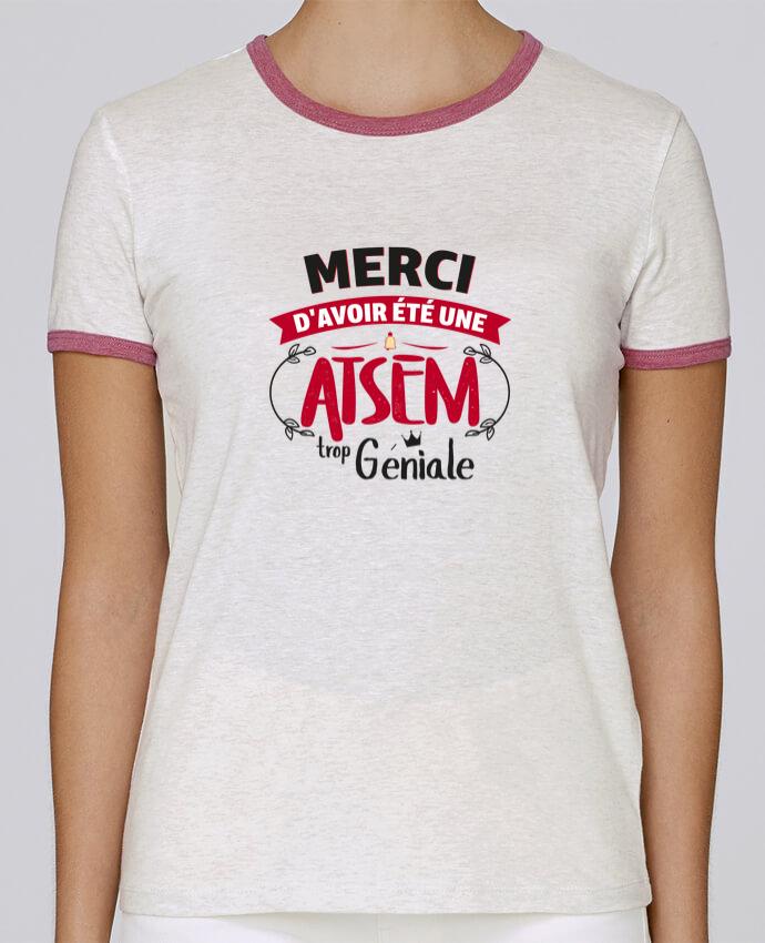 T-shirt Femme Stella Returns Merci d'avoir été une ATSEM trop géniale pour femme par tunetoo