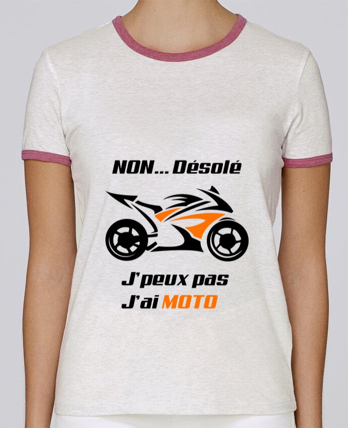 T-shirt Femme Stella Returns J'peux pas j'ai moto pour femme par MotorWave's