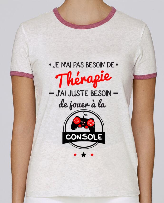 T-shirt Femme Stella Returns Tee shirt marrant pour geek,gamer : Je n'ai pas besoin de thérapie, j'ai juste besoin de j