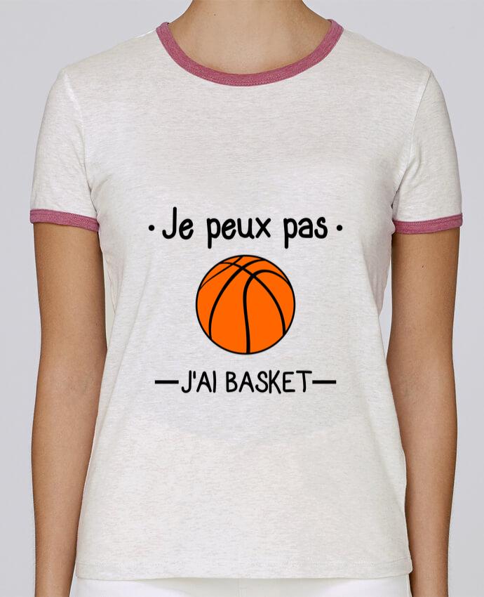 T-shirt Femme Stella Returns Je peux pas j'ai basket,basketball,basket-ball pour femme par Benichan