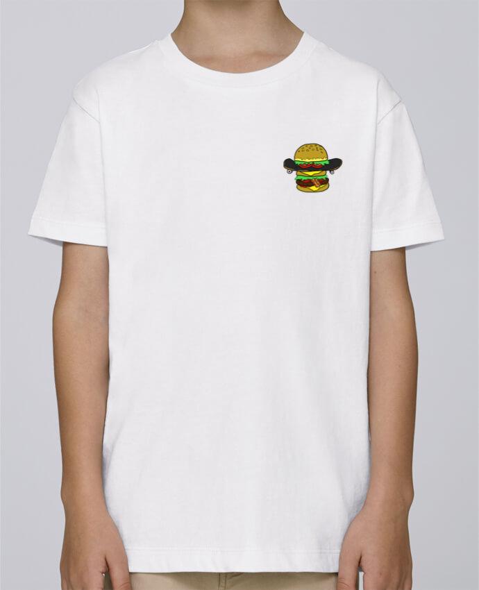 Tee Shirt Garçon Stanley Mini Paint Skateburger par Salade