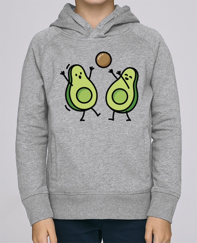 Sweat à Capuche Enfant Stanley Mini Base Avocado handball par LaundryFactory
