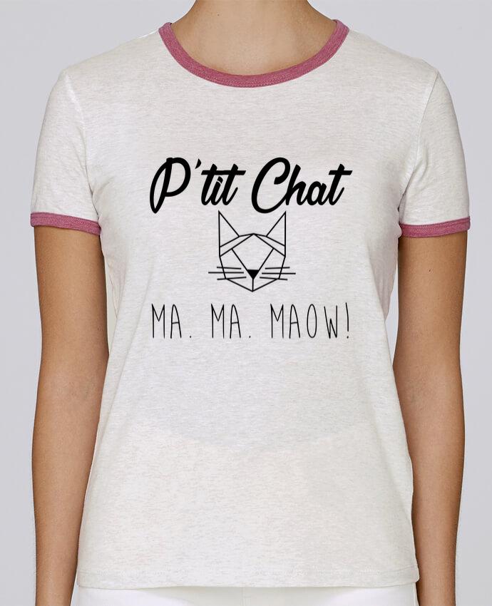T-shirt Femme Stella Returns p'tit chat pour femme par Zdav