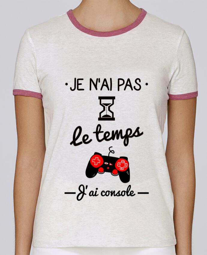 T-shirt Femme Stella Returns Pas le temps, j'ai console, tee shirt geek,gamer pour femme par Benichan