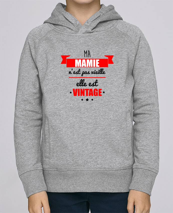 Sweat à Capuche Enfant Stanley Mini Base Ma mamie n