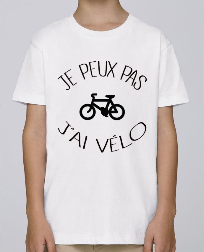 Tee Shirt Garçon Stanley Mini Paint Je peux pas j'ai vélo par Freeyourshirt.com