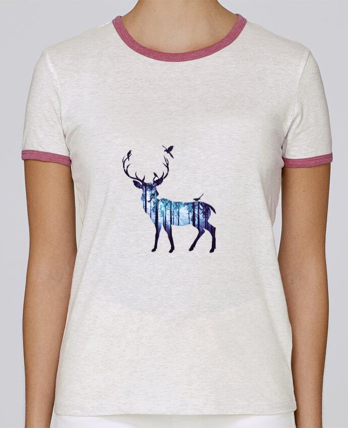T-shirt Femme Stella Returns Deer pour femme par Likagraphe