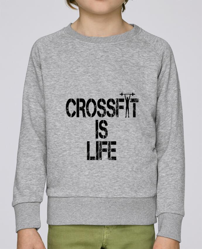 Sweat Col Rond Enfant Stanley Mini Scouts Crossfit is life par tunetoo