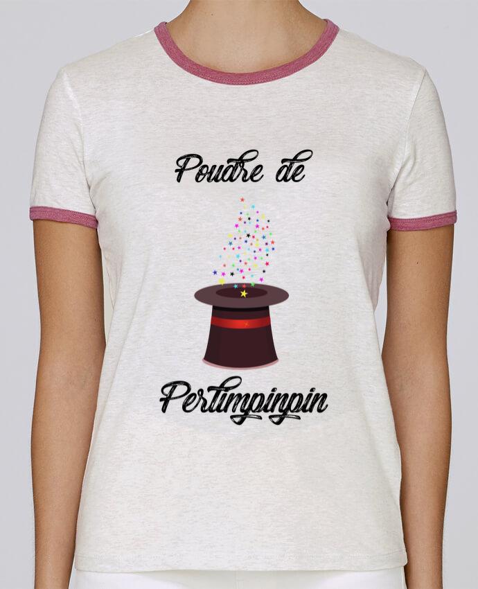 T-shirt Femme Stella Returns Poudre de Perlimpinpin VS Merlin pour femme par tunetoo