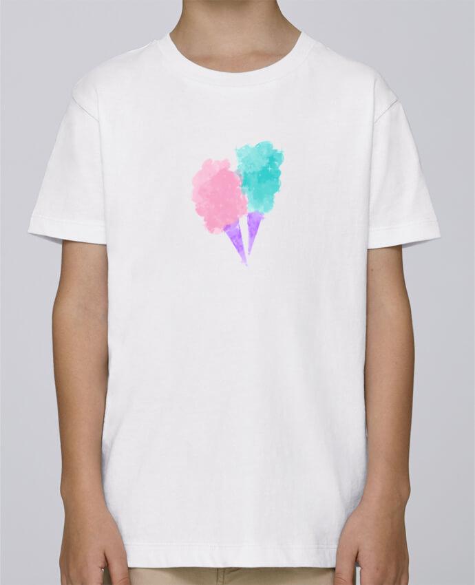 Tee Shirt Garçon Stanley Mini Paint Watercolor Cotton Candy par PinkGlitter
