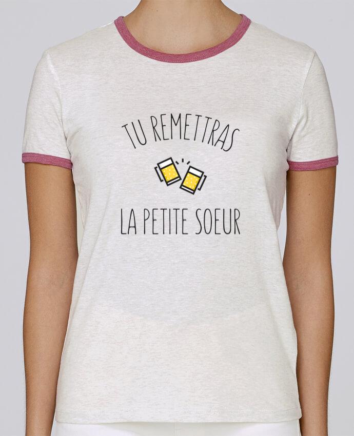 T-shirt Femme Stella Returns Tu me remettras la petite soeur pour femme par tunetoo