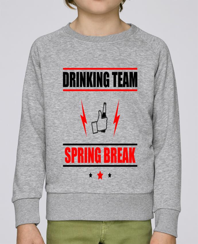 Sweat Col Rond Enfant Stanley Mini Scouts Drinking Team Spring Break par Benichan