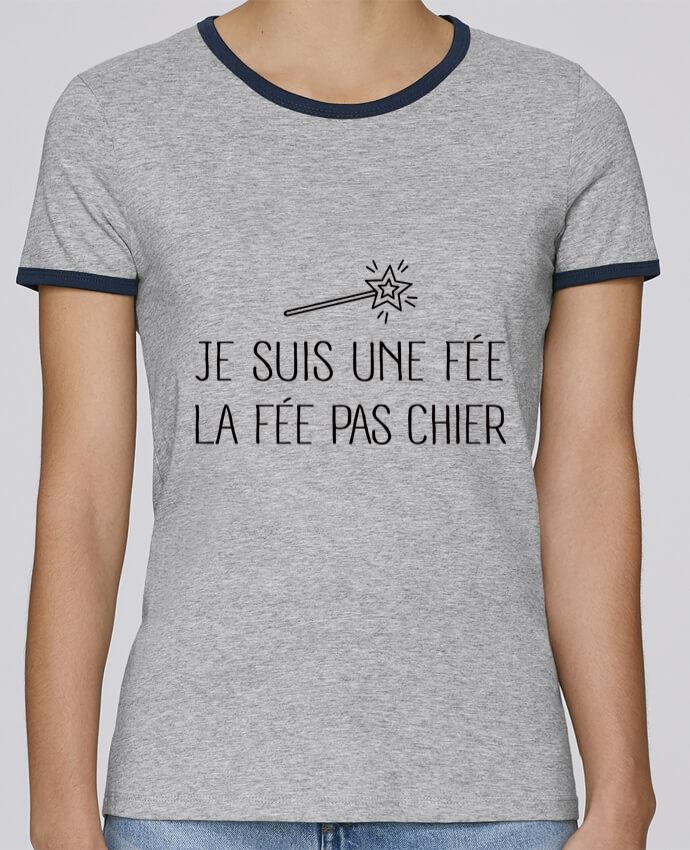 T-shirt Femme Stella Returns Je suis une fée la fée pas chier pour femme par Freeyourshirt.com