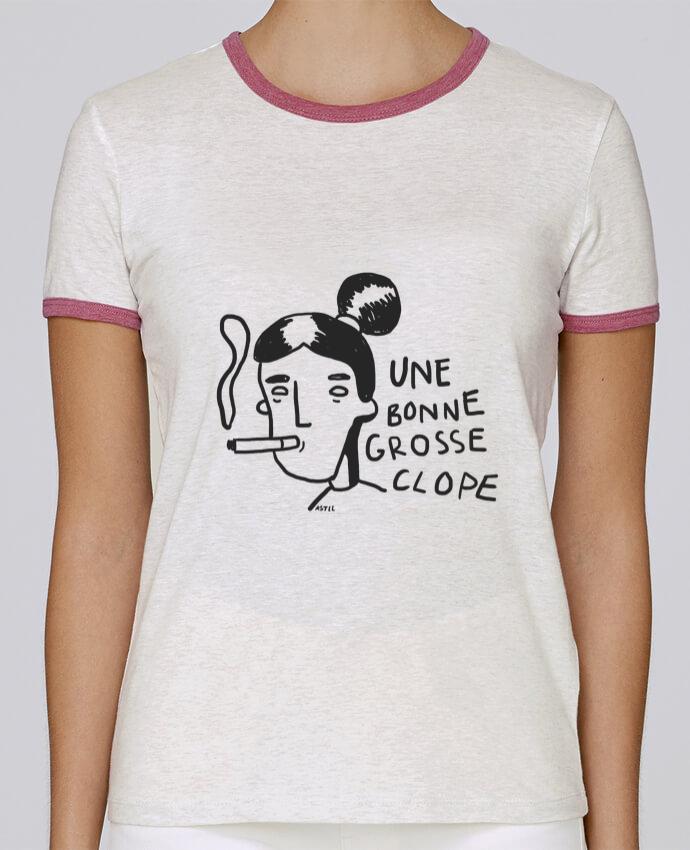 T-shirt Femme Stella Returns CLOPE (une bonne grosse) pour femme par RSTLL