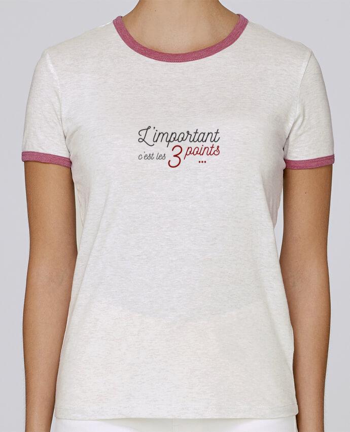 T-shirt Femme Stella Returns L'important c'est les trois points pour femme par AkenGraphics