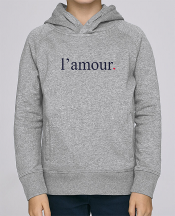 Sweat à Capuche Enfant Stanley Mini Base l\'amour by Ruuud par Ruuud