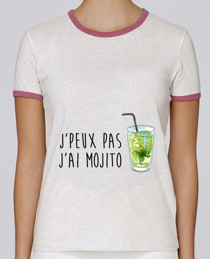 T-shirt Femme Stella Returns Je peux pas j'ai mojito pour femme par FRENCHUP-MAYO