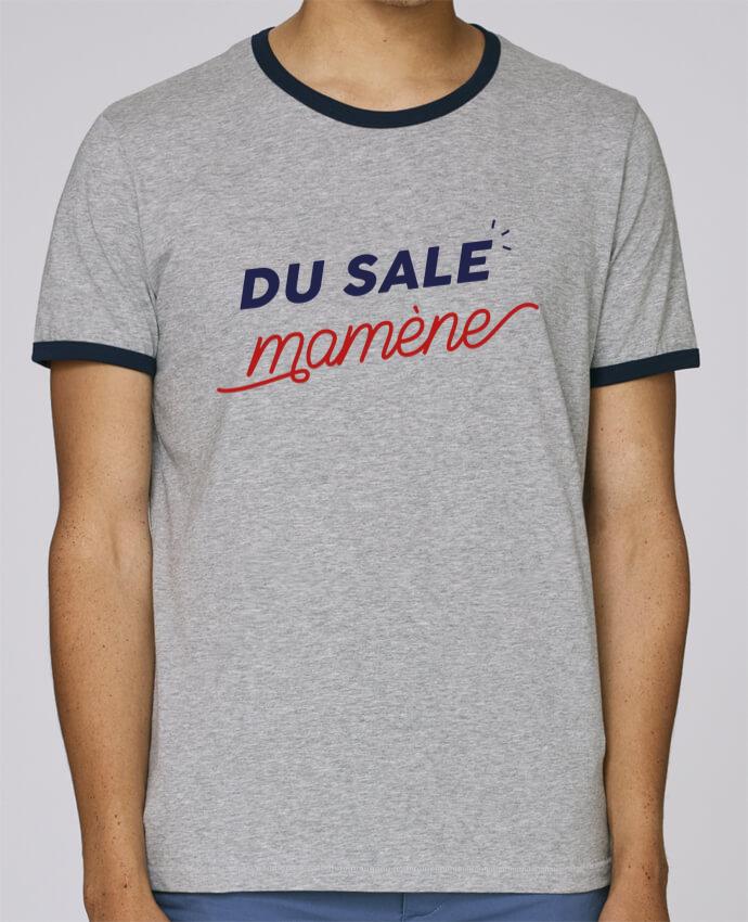 T-Shirt Ringer Contrasté Homme Stanley Holds du sale mamène by Ruuud pour femme par Ruuud