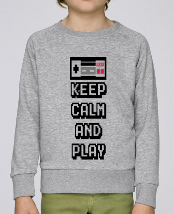 Sweat Col Rond Enfant Stanley Mini Scouts KEEP CALM AND PLAY par SG LXXXIII
