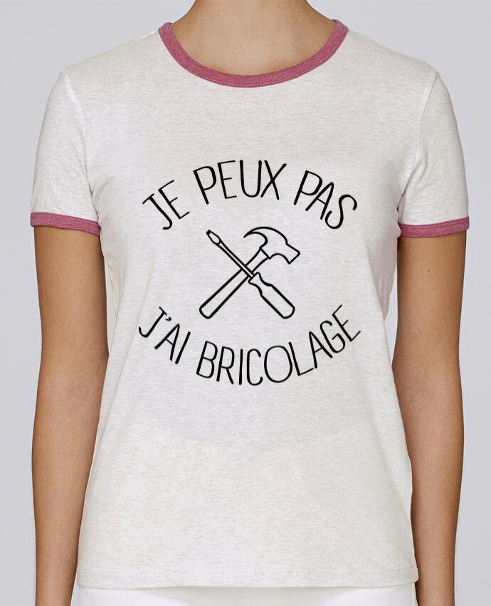 T-shirt Femme Stella Returns Je peux pas j'ai Bricolage pour femme par Freeyourshirt.com