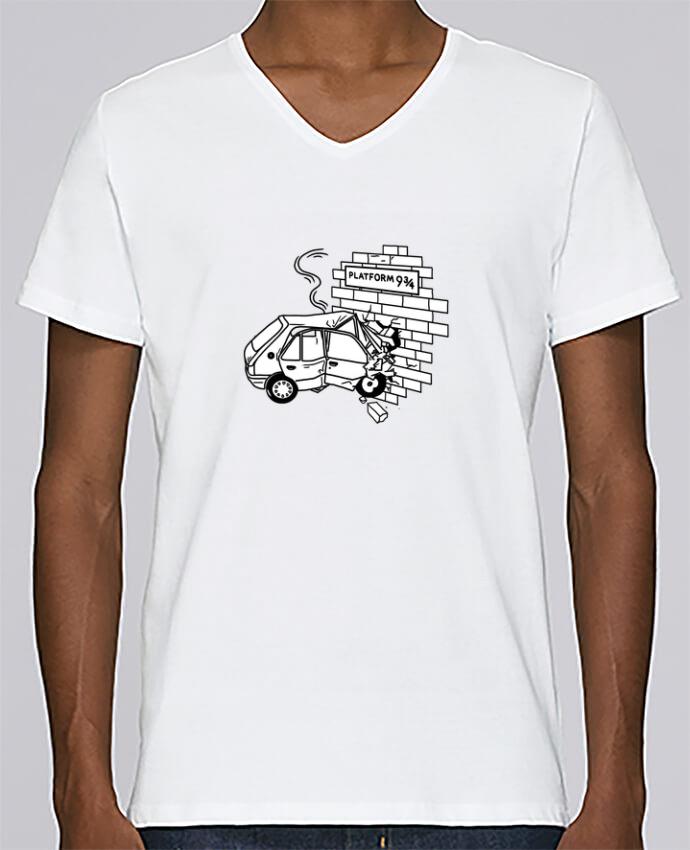 T-shirt Col V Homme Stanley Relaxes 205 par tattooanshort